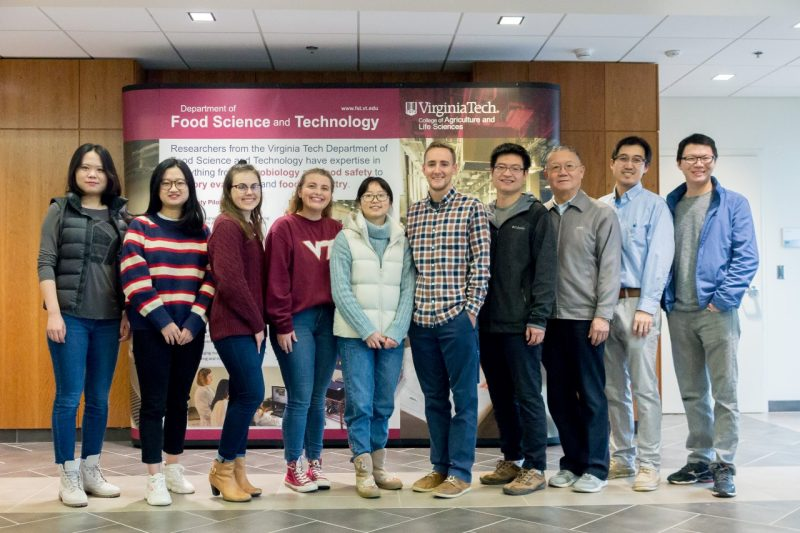 Dr. Huang's research group
