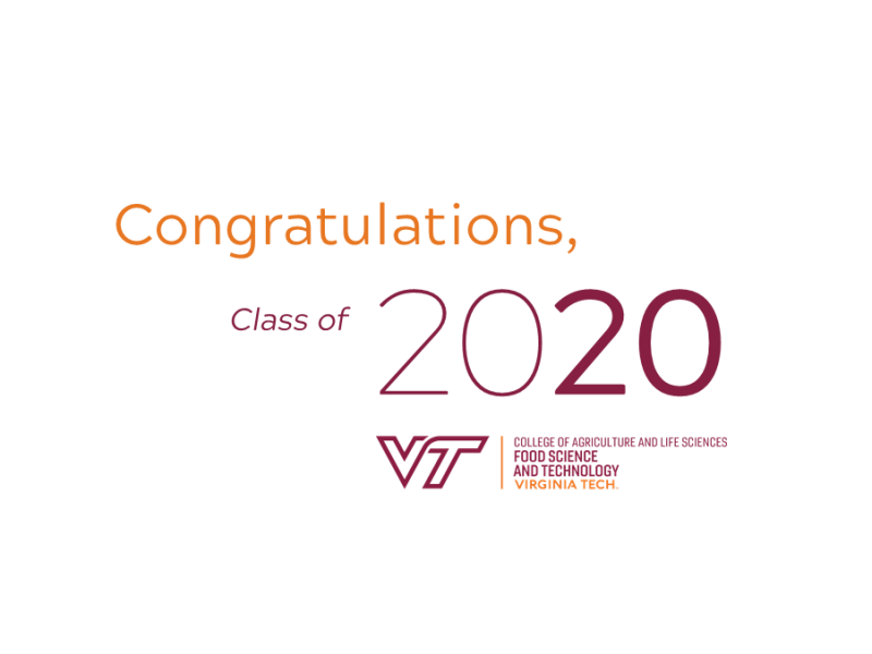 FST 2020 Commencement Page