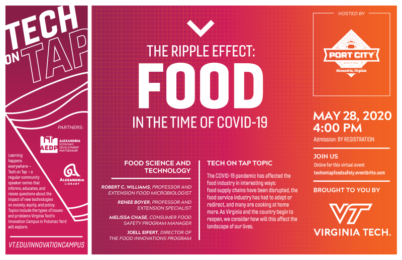 Tech on Tap: Food in the Time of COVID-19